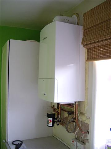 The new boiler is installed and running within 8 hours...Job done