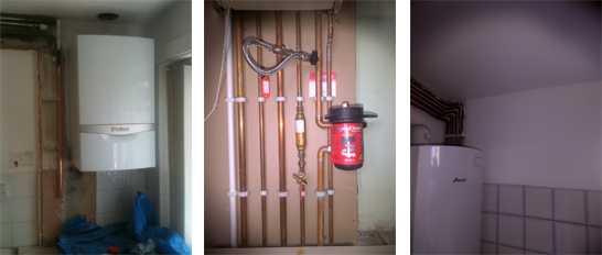 worcester 29cdi, 30cdi with magna clean unit combination boiler - boiler installation bristol