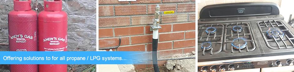 LPG gas engineers - Installation - service - repair