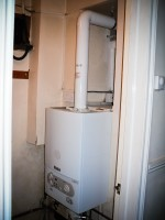 A Vaillant eco Tec pro Combi boiler installed in Clifton, Bristol.